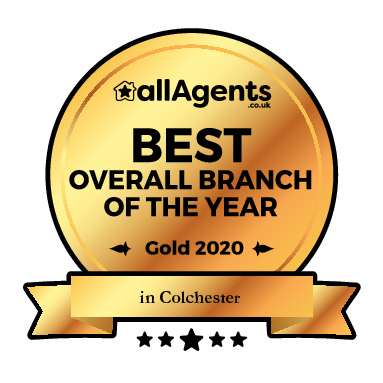 BEST OVERALL AGENT COLCHESTER GOLD AWARD 2020